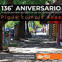 Aniversario de Pigüé