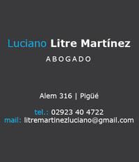 Luciano Litre Martínez - Abogado